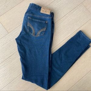 Women's Blue Hollister Skinny Joggers